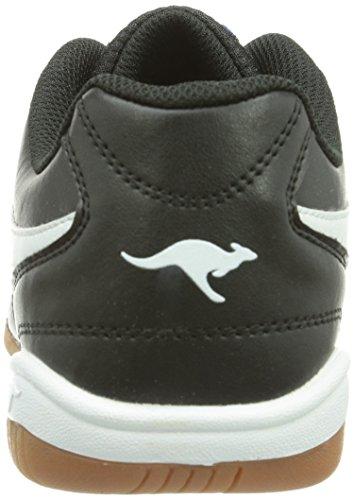 Kangaroos K-yard 3021, Sneaker Uomo Nero (schwarz (noir / Blanc 500))