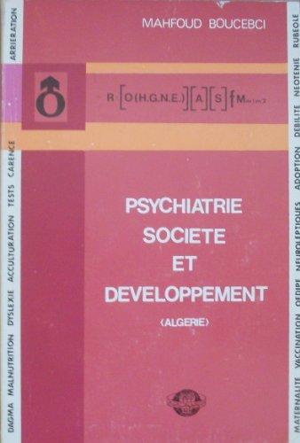 PSYCHIATRIE SOCIETE ET DEVELOPPEMENT (Algérie)