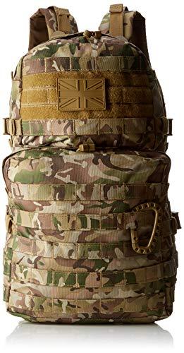 Kombat UK BTP 28 L Sac à Dos rembourré et Patch Carabina Sac Randonnée MTP Cadet de l'Armée Britannique