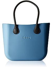 O bag Damen Obdy71_obcv04 Shopper, Blau (Blu Avio), 38 X 31 X 14 cm