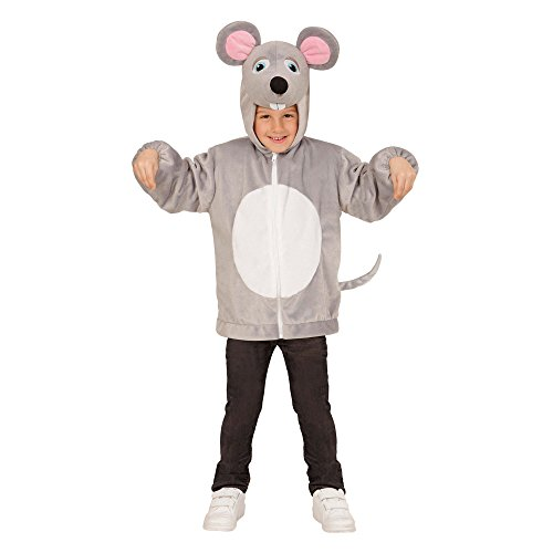 Widmann - Kinderkostüm Maus aus Plüsch (Ratte Kostüm Fancy Dress)