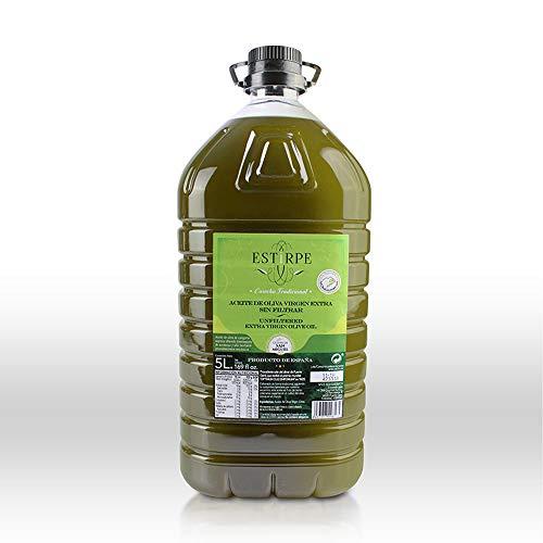 Aceite de Oliva Virgen Extra Premium Estirpe Sin Filtrar -...