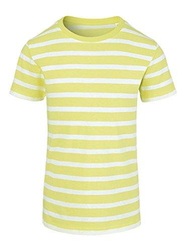 Maratus Mädchen Bio T-Shirt aus Baumwolle 110-116 / weiß/Lime
