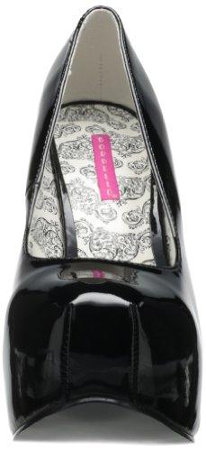 Pleaser - Tee06W/B, scarpe col tacco  da donna Nero(Black (Black))