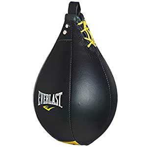 Everlast Boxbirne, Leder schwarz schwarz M