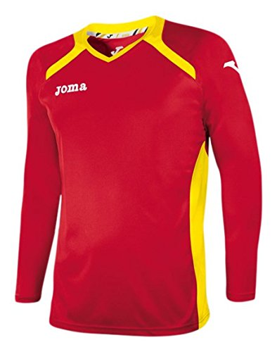 Joma 1196 99 011 T-Shirt manches longues Rouge/Jaune