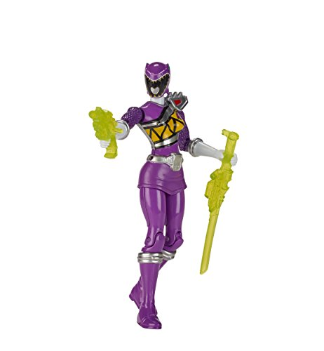 Power Rangers dyno charge 5 inches action figure Purple Ranger [Zyuden Sentai Kyoryuger] US Bandai BANDAI / POWER RANGERS DINO CHARGE ACTION HERO (Rangers Requisiten Power)