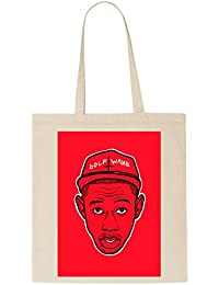Golf Wang Tyler The Creator Antichrist Red T-Shirt Tote Bag