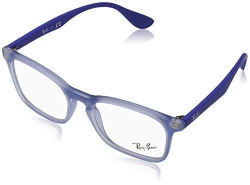 Rayban Unisex-Kinder Brillengestelle 0RY 1553 3668 48, Blau (Rubber Elettric Blue)