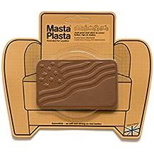 Tan MastaPlasta Self-Adhesive Leather Repair Patches. Choose size/design. First-aid for sofas, car seats, handbags, jackets etc (TAN FLAG 10cmx6cm)