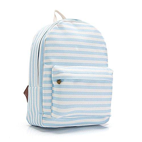 Vena creativa materiale tela Zip squisito studente neutro semplice scuola borsa portatile facile da pulire zaino studente altamente traspirante di grande capacità