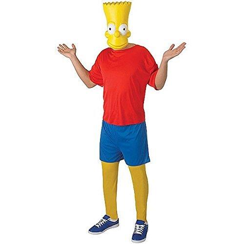 Rubie 's Offizielle Bart Simpson Klassische Erwachsenen Kostüm–X-Large