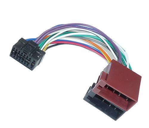 Alpine DIN ISO Auto Radio Adaptador Cable Conector CDA CDE RM R...