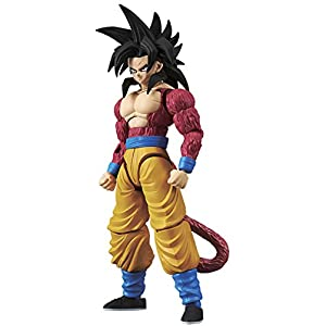 Bandai Hobby-Son Goku Super Saiyan 4 Model Kit 14 cm Dragon Ball GT Figure-Rise Standard 84086P (BDHDB144977) 12