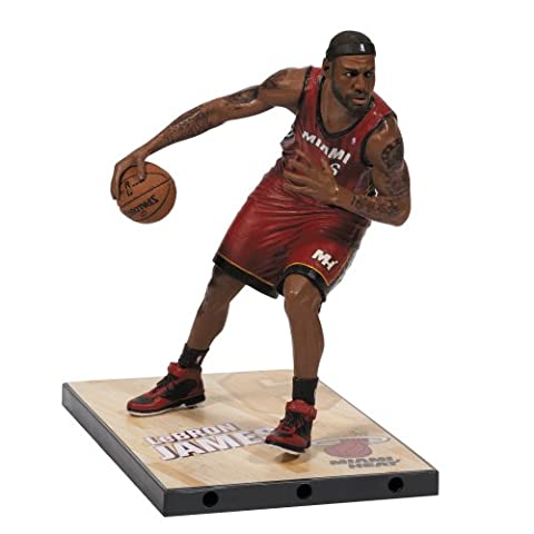 McFARLANE NBA SERIES 24 LeBRON JAMES MIAMI HEAT ACTION FIGURE