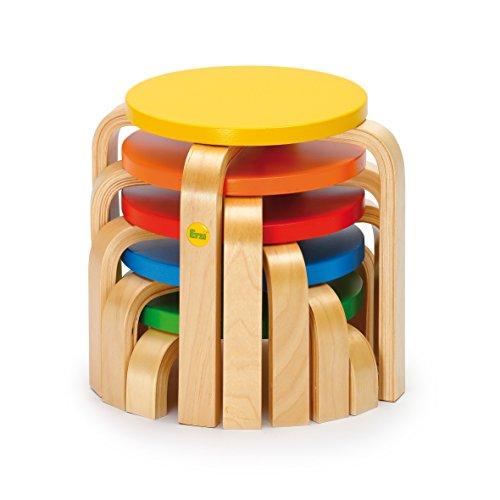 Erzi 35x 35x 30cm deutsche Holz Spielzeug Mut Balancing - Schritt-hocker Für Sicherheit Kleinkinder