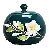 GLJY-Urne cremazione Vaso Funebre for Animali Domestici, Souvenir Weng Serbatoio di Cenere in Ceramica Cenere Gatto Cane Cremazione