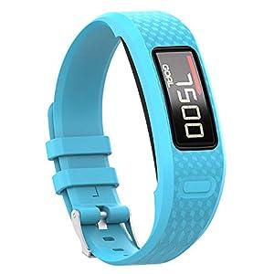 12 Farben smartwatch Sport silikon Armband für Garmin vivofit 1 vivofit 2, einstellbare robuste langlebige handschlaufe, Metall Armband Schnalle, länge 265mm – 215mm / breite 16mm
