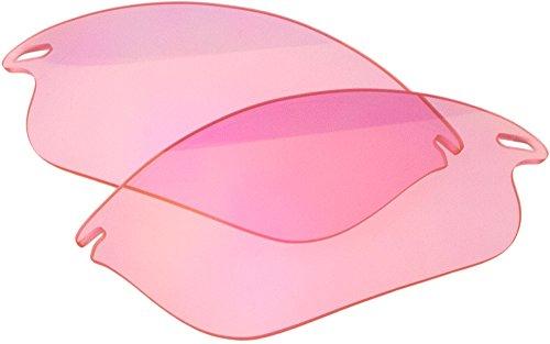 Ersatz-Objektive für Oakley Fast Jacket Sonnenbrille, Light Pink Mirror