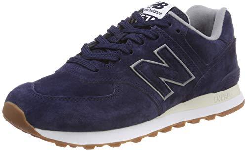 New balance 574v2, sneaker uomo, blu pigment epa, 41.5 eu