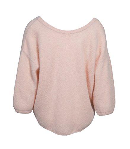American Vintage Damen Pullover Hana in Zartem Rosa Sable