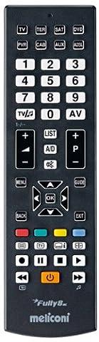 Meliconi - Fully 8 New - télécommande universelle 8 en 1 - Ps2 Dvd Remote