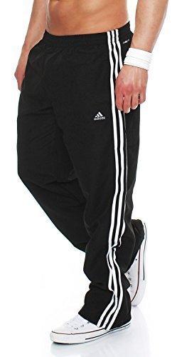 adidas-essentials-e14902-mens-tracksuit-bottoms-unisex-trainingshose-essentials-black-white-xxl
