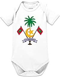 Malediven Wappen Baby Strampler by Shirtcity