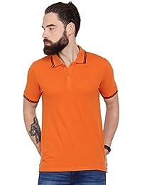Urban Nomad Orange Slim Fit T-shirt