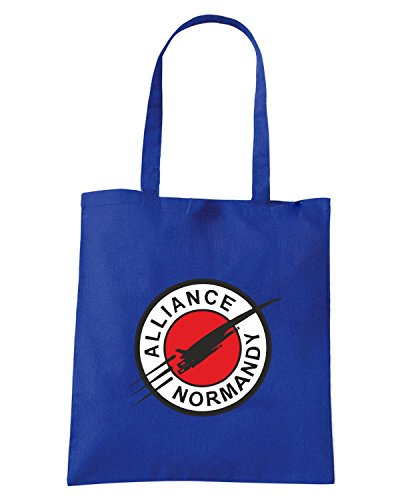 T-Shirtshock - Borsa Shopping TGAM0005 Alliance Normandy Blu Royal