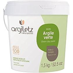 Argiletz Pot Prête à l'Emploi Argile Vert 1,5 Kg