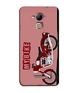 Fuson Designer Back Case Cover for Coolpad Note 3 (Vector Design Two Wheeler Men Dabang Bhai )