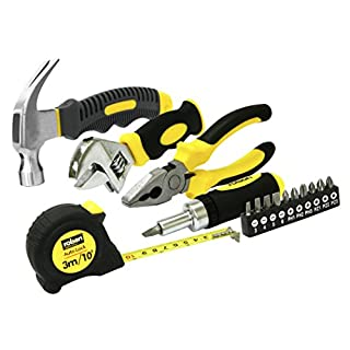 Rolson 36807 Home Tool Kit, Multi-Colour