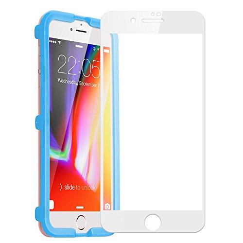 iPhone 6s Plus / 6 Plus Schutzfolie, ESR 0.3mm 9H Panzerglas mit Installation Werkzeug Displayschutz Folie für iPhone 6 Plus / 6S Plus (5,5 Zoll) - Weiß
