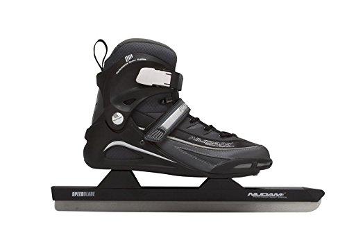 Schreuders Sport Nijdam Pro-Line Polyamid Softboot Speed Skate 48 Black/Anthracite/Silver