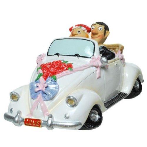 Spardose Brautpaar im Cabrio