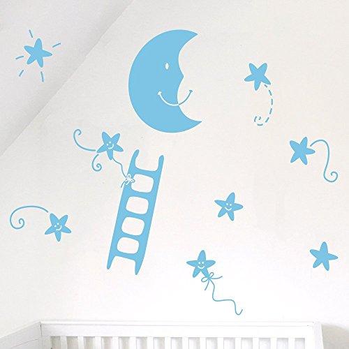 ideavinilo-vinilo-decorativo-infantil-una-escalera-chiquita-para-subir-a-la-luna-rodeada-de-estrelli
