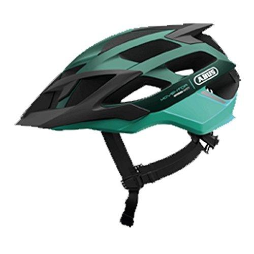 Abus Moventor Fahrradhelm, smaragd Green, M