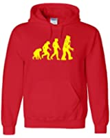 Inspired Robot Evolution Hoodie in Adult and Kids Hooded Top All sizes - Free Delivery