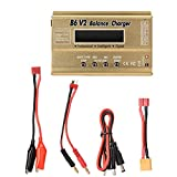 Zetiling Chargeur de Batterie RC, Blocs de Batteries 2S-6S, Chargeur Smart Balance...