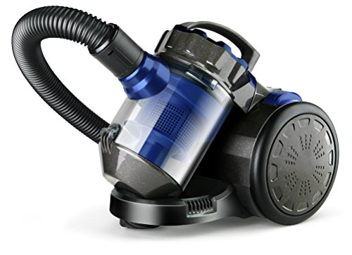 Taurus Smart Aspirador multiciclónico sin bolsa, 1000 W, 1.5 litros, 50 Decibelios, Azul