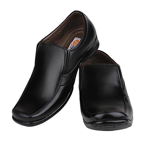 Digni casual slip partie des hommes sur Mocassins formelle pantoufle usure de conduite - choisir la taille Noir