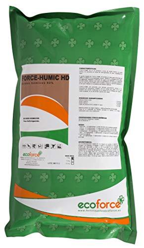 CULTIVERS Force-Humic HD 82 de 1 kg. Solución soluble al 82% de ácidos húmicos y fúlvicos con leonardita indicada para fertirrigación. Precio directo de fabrica