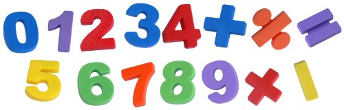 Imagen principal de Miniland 97923 - Caja de 68 números y símbolos magnéticos [Importado de Alemania]