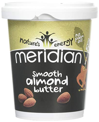 Meridian Foods - Smooth Almond Butter 100% 454g