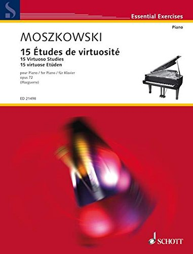 15 Etudes de virtuosit Opus 72 --- Piano