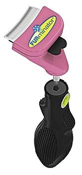FURminator Furflex Outil Deshedding Manche + Tête Anti-Mue pour Chat Taille S