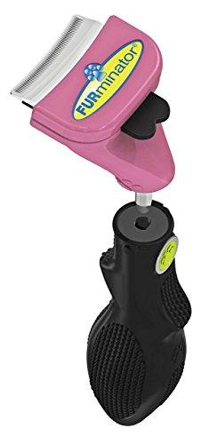 FURminator FURflex, Fellpflegebürste für kleine Katzen, deShedding-Tool zur Entfernung der Unterwolle, Größe S -