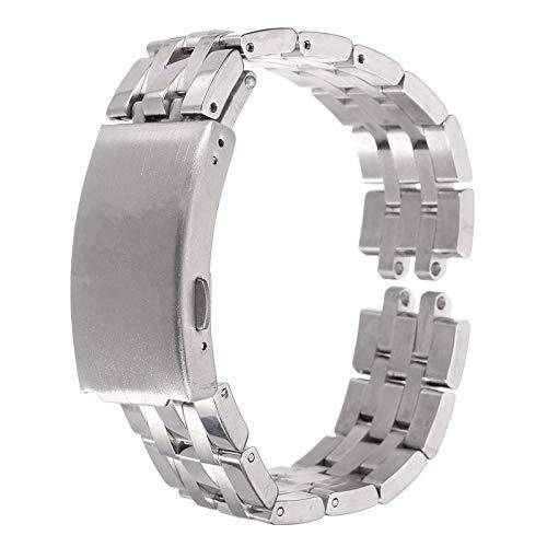ROUHO 19Mm Ersatz-Edelstahl-Uhrenband Mit Schraubenzieher Für Tissot Prc200 T17 T461 T014 T41
