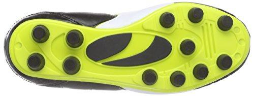 Puma Universal Ii Fg Jr, Chaussures de Football Mixte Enfant Noir (black-white-sulphur Spring 03)